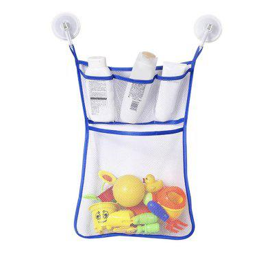 Baby Bathroom Hanging Mesh Bath Toy Storage Bag New Arrival new arrival colorful 10 row bead wooden abacus child educationnal calculate math learning teaching tool kid baby toy wholesale