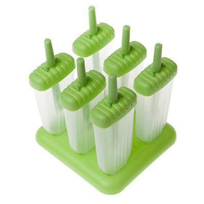 6 Reusable Popsicle Formy Ice Make