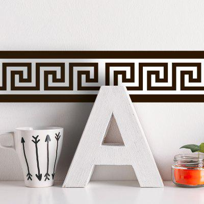 Self-Adhesive Decorative Waist Line Wall Sticker Waterproof PVC Wallpaper creative letters design adventure diy pvc sticker adhesive wallpaper