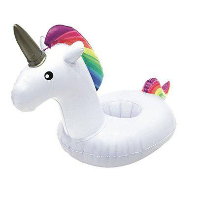 Inflatable Unicorn Water Coaster Float Cup Holder sea shipping 9x4x5m much fun professional china inflatable water slide inflatable water slide pool for sale