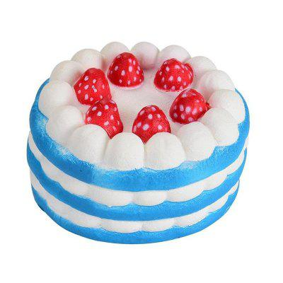 Kid\'s Creative Toy Jumbo Squishy Anti Stress Slow Rising Simulation Cake creative simulation comadreja toy polyethylene
