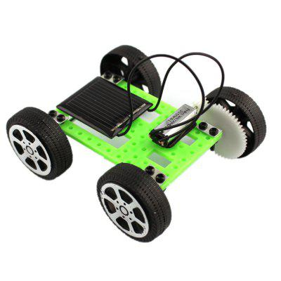 DIY Assemble Toy Set Solar Powered Car Kit Science Educational Kit for Kids