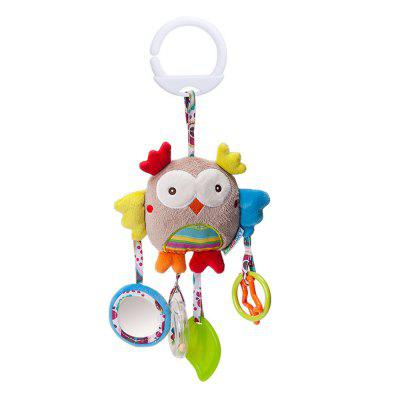 Infant Stroller Washable Kids Hanging Toy for Crib with Rattle Ring