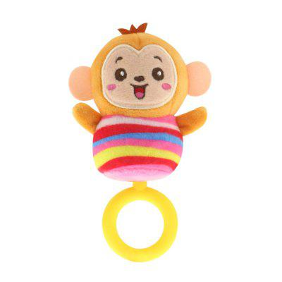 Newborn Rattle Baby 0 - 1 Year Old Teether Hand Crank Bell Plush Toy