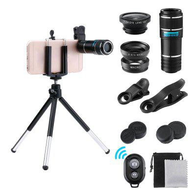 12X Phone Telescope 10 in 1 The Lens Suit