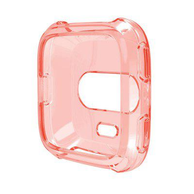 TPU Silicone Cover Case Watch Casing Guard Protector for Fitbit Versa