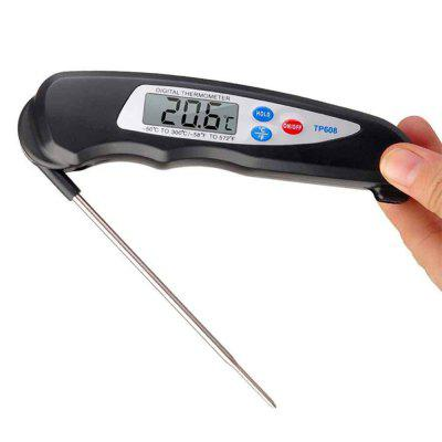 Foldable Digital Food Thermometer Tester for BBQ