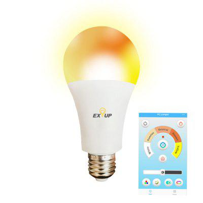 EXUP A60 E27 12W Smart Bulb LED Dimmable APP Control Color Changing 100 - 240V