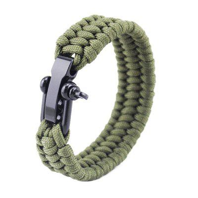 Outdoor Multi-function Emergency Survival Bracelet