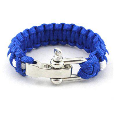 Outdoor Adventure High Strength Survival Bracelet
