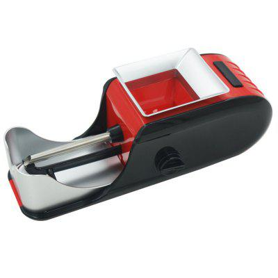 Electric Easy Automatic Cigarette Rolling Machine Tobacco Injector Maker cntomlv новые кухонные инструменты dumpling jiaozi maker устройство easy diy dumpling mold dumpling wrapper cutter making machine