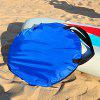 Foldable Durable Downwind Wind Sail Paddle Board for Kayak Sailboat Canoe - BLUE