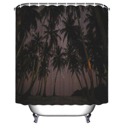 Coco Star Shower Bath Polyester Waterproof Shower Curtain vintage big flowers waterproof polyester shower curtain