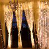 304 LED 9.8FT Gordijn String Light voor Party Wedding - WARM WIT