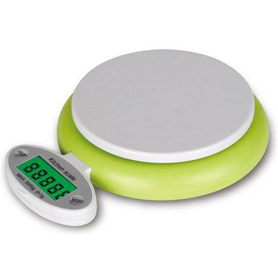 Digital Practical 5KG/1G LCD Display Electronic Kitchen Scale 9d 06 1 3 lcd digital kitchen spoon scale silver deep blue 0 1g 300g
