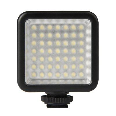 Mini Led Video Light with Cold Shoe Mount for DSLR Camera