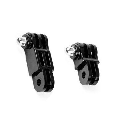Sports Camera Long Short 2IN1 Straight Joint Link Mount Adapter Same Direction