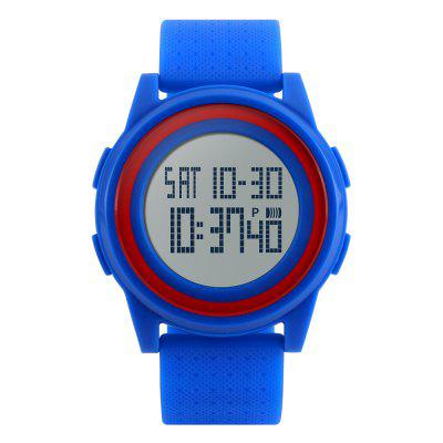 SKMEI Waterproof Lovers Sport With Very Comfortable Soft Band Watch