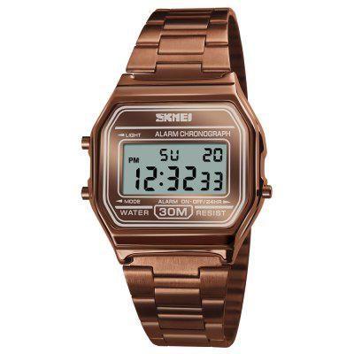 SKMEI Men Fashion Casual Watch LED Digital Watches