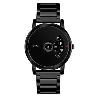 SKMEI Men's Quartz Waterproof Full Steel Fashion Top Luxury Brand Watches baosaili top brand new classic leather fashion strap stainless steel women watches quartz watches for men masculino bs995