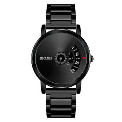 SKMEI Men's Quartz Waterproof Full Steel Fashion Top Luxury Brand Watches relogio masculino wishdoit mens top brand luxury fashion business quartz watch sport steel waterproof wristwatch watches