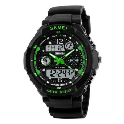 SKMEI Sports Shock Resistant Men LED Military Digital Quartz Watche