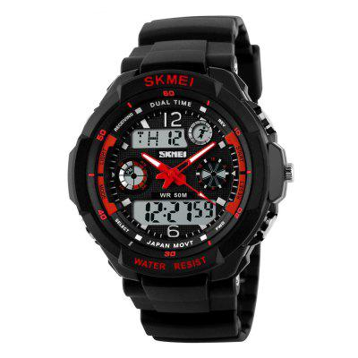 SKMEI Sports Resistente A Choques Homens LED Militar Digital Quartz Watche