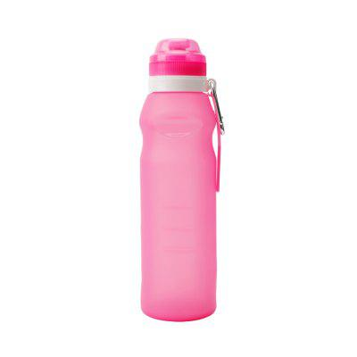 PolarFire Outdoor Collapsible Silicone Travel Bottles Folding Water Bottle