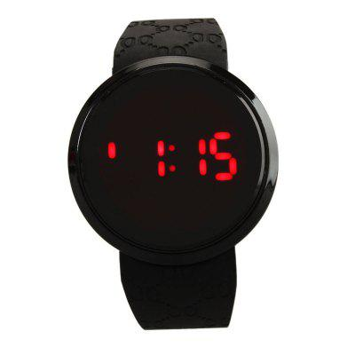 Saisonale 3152340 elektronische Mode-Studentengelee-Liebhaber-Uhr des Touch Screen LED