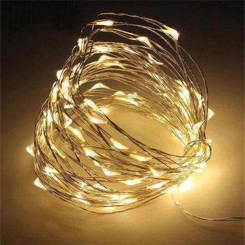 USB 12V LED String Battery Copper Wire Fairy Lights Xmas Party Fairy Decor Lamp