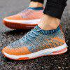 ZEACAVA Breathable Summer Leisure Casual Light Fly Woven Casual Shoes - CORAL