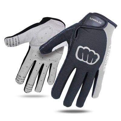 Cycling Gloves Men Sports Full Finger Anti Slip Gel Pad