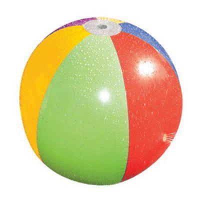 Children Outdoor Inflatable Spraying Water Ball Large Beach Toys