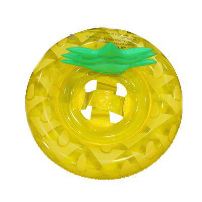Thicken Water Inflatable Children Pineapple Swim Ring blue woodpecker thicken green inflatable swimming ring