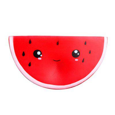 Jumbo Squishy Cute Smiley Watermelon Squeeze Toy Slow Rising Decompression Dolls funny cute mini cartoon tpr animal jumbo squishy toy