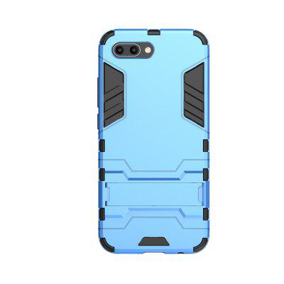 Case for Huawei Honor 10 with Stand Back Cover Solid Colored Hard PC