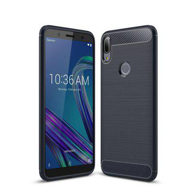 Cover Case for ZenFone Max Pro m1 Shockproof Back Solid Color Soft TPU