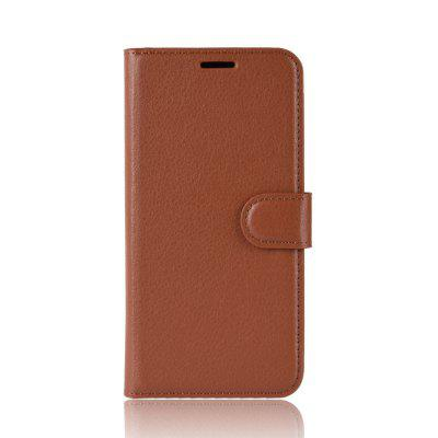 Litchi PU Leather for Huawei Honor 10 Flip Wallet Cover Case amf 8643e