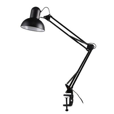 LED Desk Lamp E27 Long Swing Arm Folding Reading Light Exclude Bulb