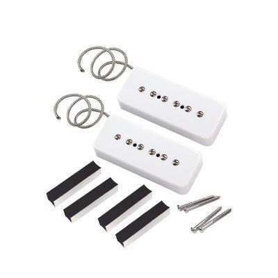 P90 Alnico 5 Single Pickup 2PCS 1 set guitarfamily alnico pickup for casino jazz guitar gold made in korea