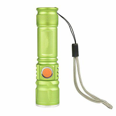 Mini Flashlight Night Ride USB Charging Bicycle Light