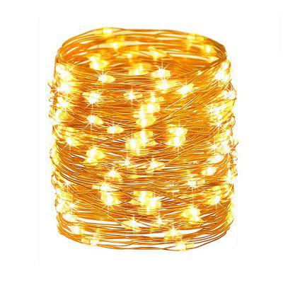 100 Led String Fariy Lights Battery Operated Waterproof with Remote Control