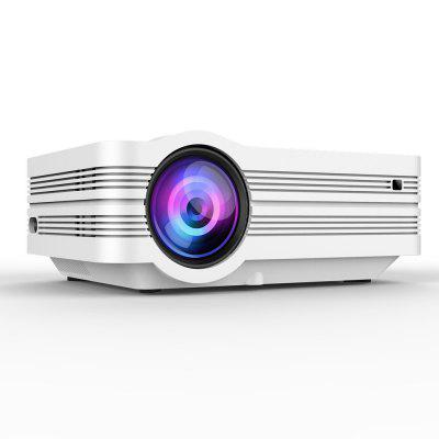 Multimedia Home Theater Video Projector and HDMI Cable Support 1080P HDMI USB SD