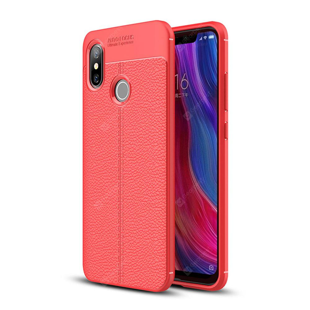 Case for Xiaomi Mi 8 Shockproof Back Cover Soft TPU