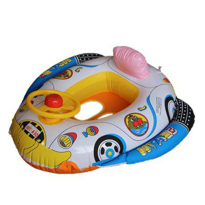 Inflables Children Swimming Ring Seat Pool Barco flotante