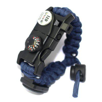 Survival Bracelet SOS LED Light