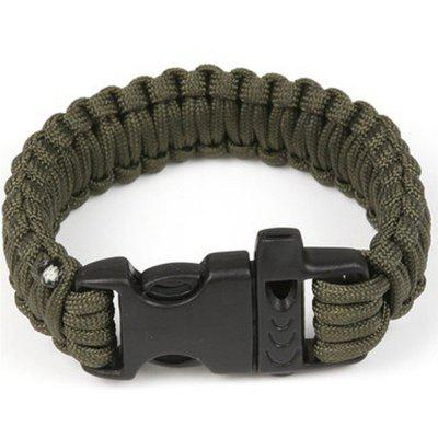 SOS Survival Bracelet 550lbs With Whistle