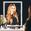 LED Vanity Mirror Light Kit  with Dimmer and Power for Makeup Dressing Table Set - WHITE