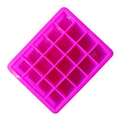 20 Squares Silicone Ice Cream Mold stainless steel cream horn mold