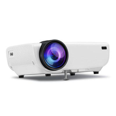 Multimedia Home Theater Video Projector with HDMI Cable Support 1080P HDMI USB new h80 support 1080p hd home theater lcd mini led projector av vga sd usb hdmi free shippinf with track number 12001069